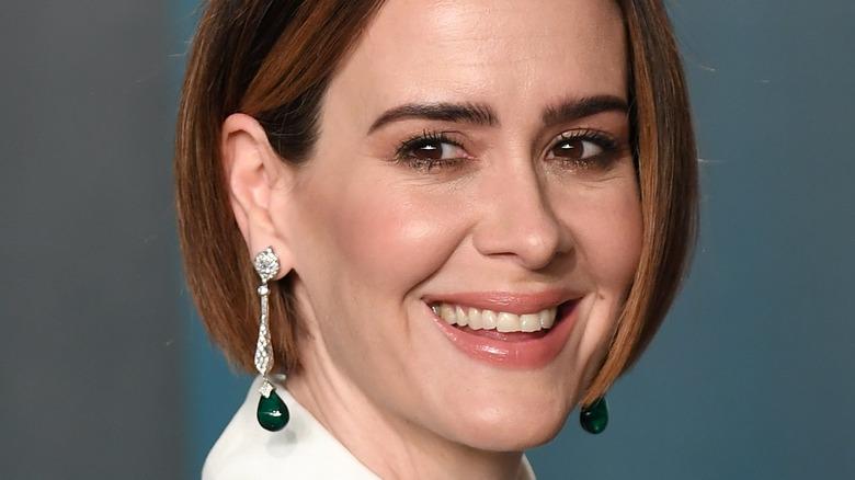 Sarah Paulson smiling at an event