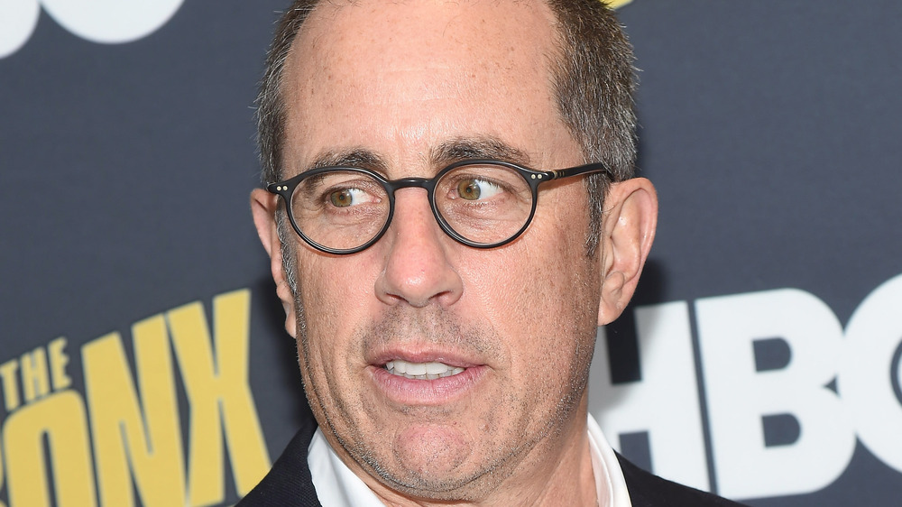 Jerry Seinfeld looking concerned