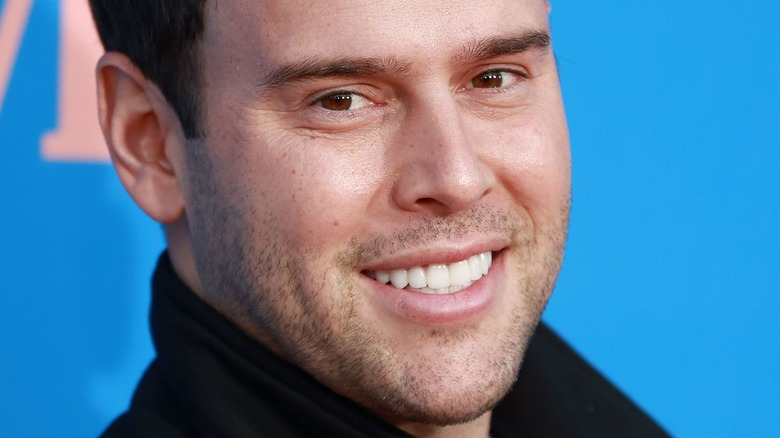 Scooter Braun on the red carpet