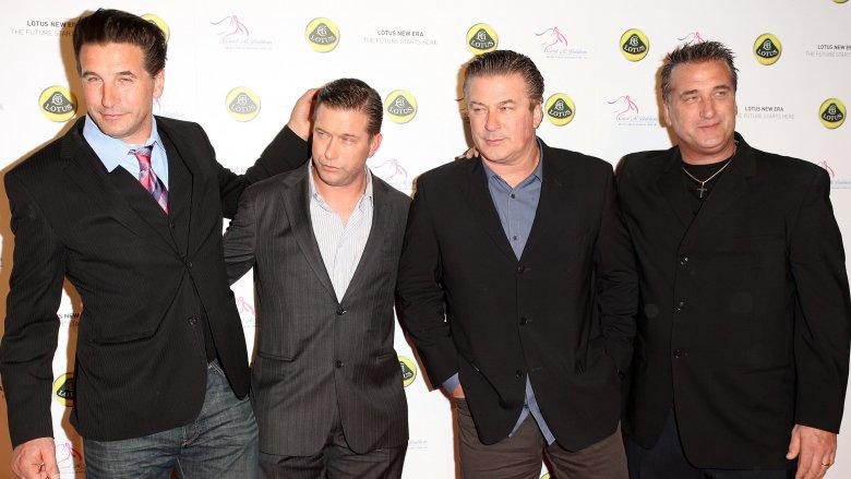 Billy Baldwin, Stephen Baldwin, Alec Baldwin and Daniel Baldwin