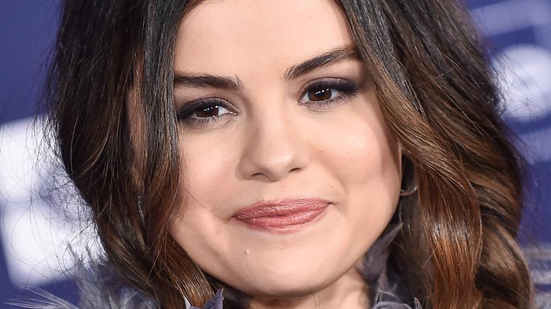 Selena Gomez smiling