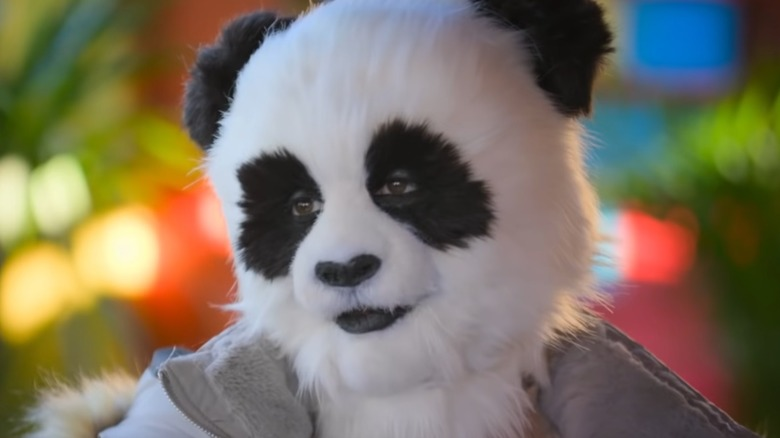 Panda on Sexy Beasts