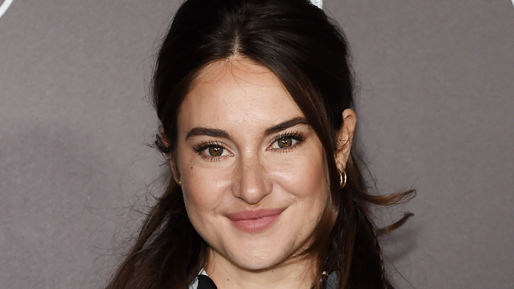 Shailene Woodley smiling at an event