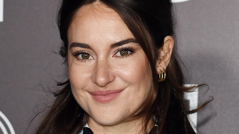 Shailene Woodley smiling on the red carpet