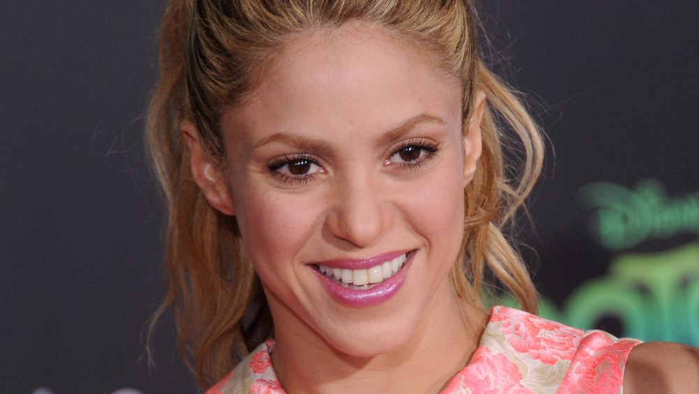 Shakira on the red carpet