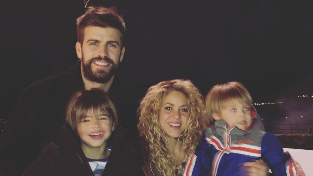 Shakira, Gerard Pique, and their two sons