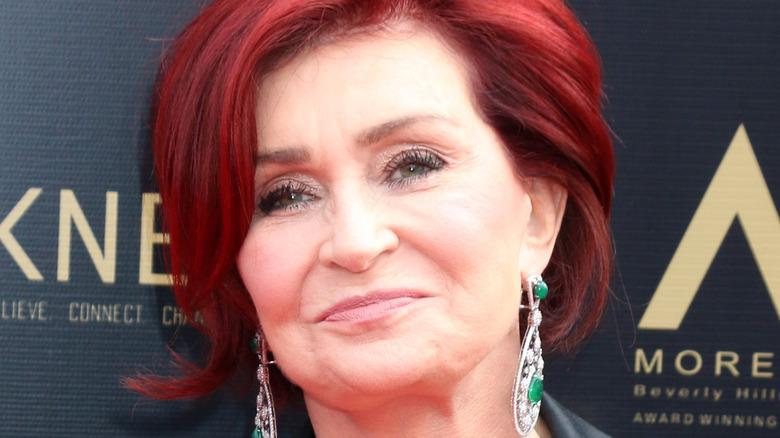 Sharon Osbourne on a red carpet