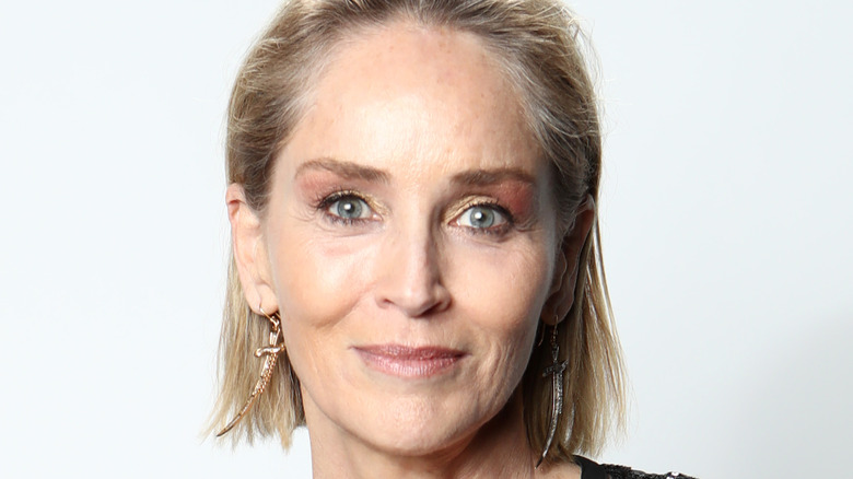 Sharon Stone at an event