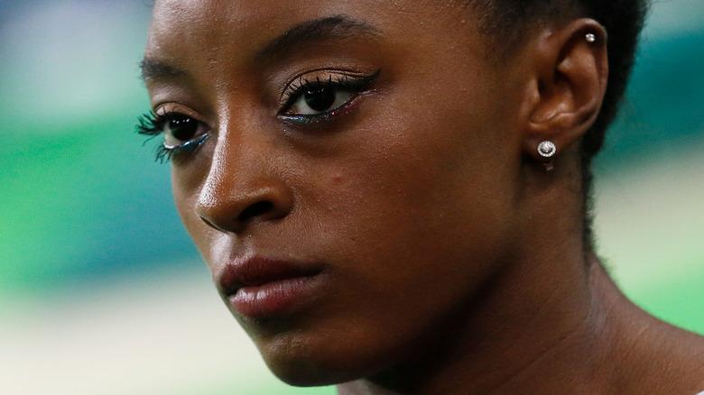 Simone Biles at the 2020 Olympics