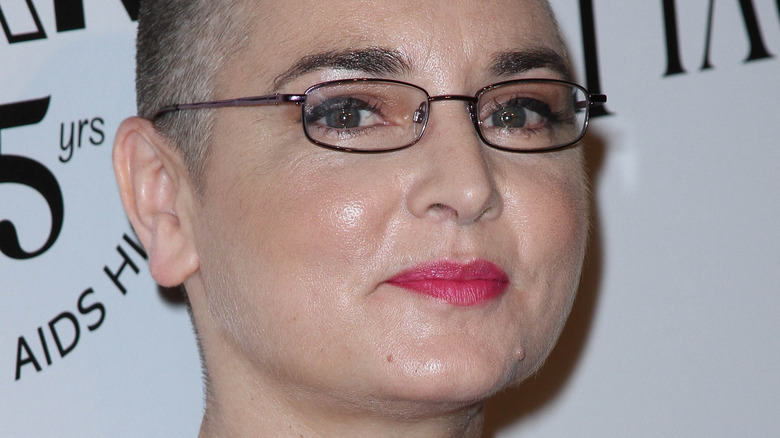Sinead O'Connor on the red carpet