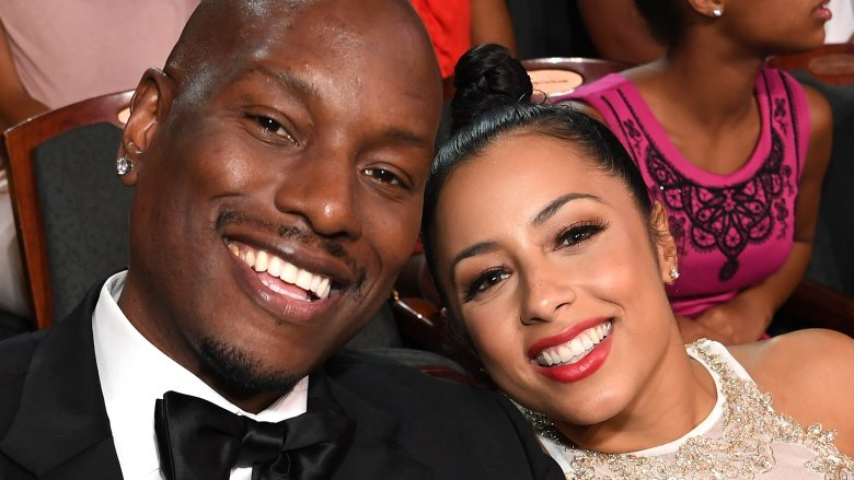 Tyrese Gibson and Samantha Lee Gibson