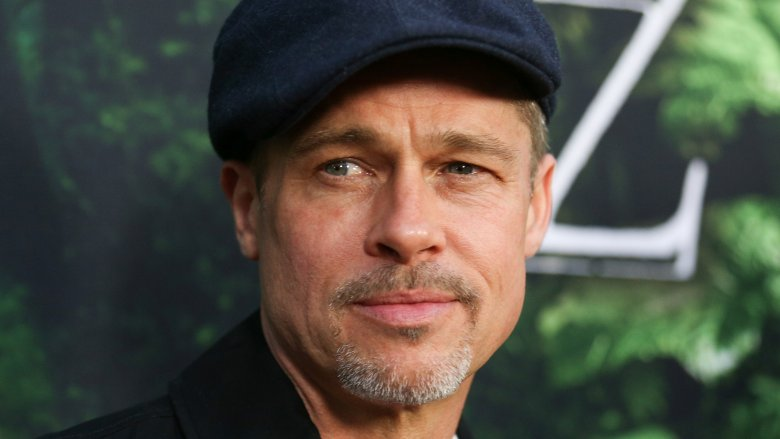 Brad Pitt close up