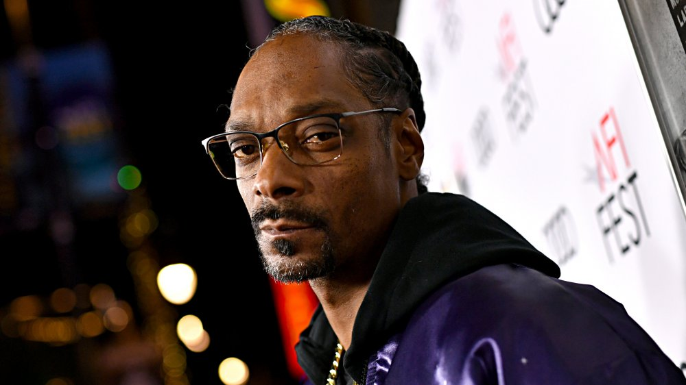 Snoop Dogg wearing glasses