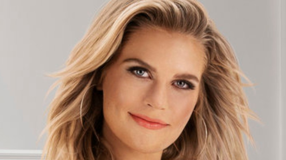 Madison LeCroy poses for publicity shot as cast member of Bravo's Southern Charm