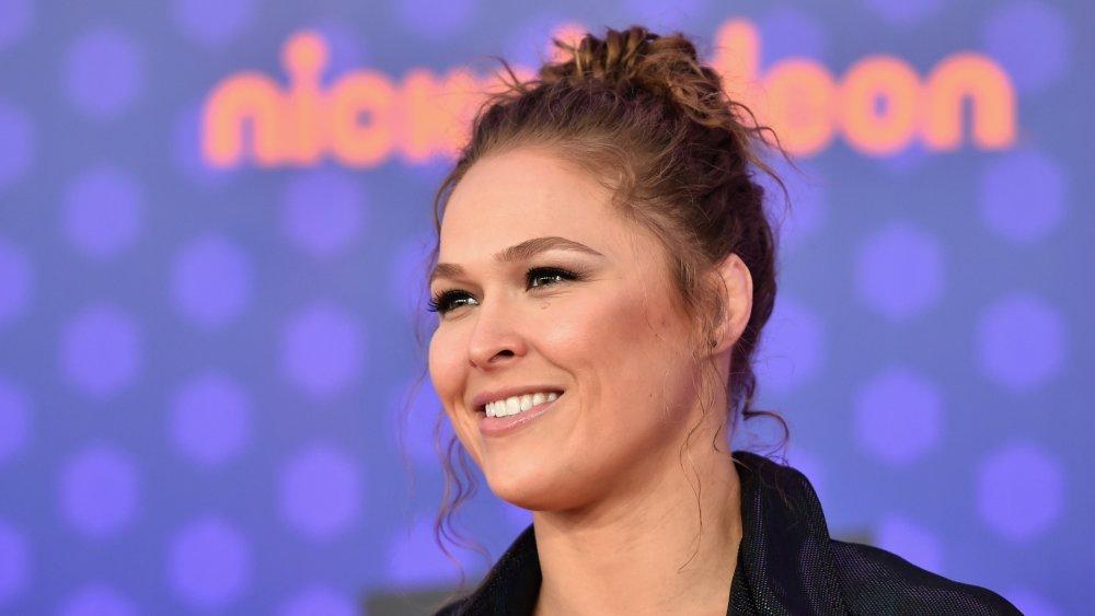 Ronda Rousey at 2018 Nickelodeon Kids' Choice Sports