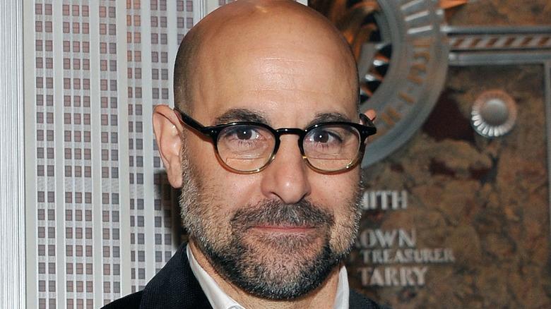 Stanley Tucci beard glasses