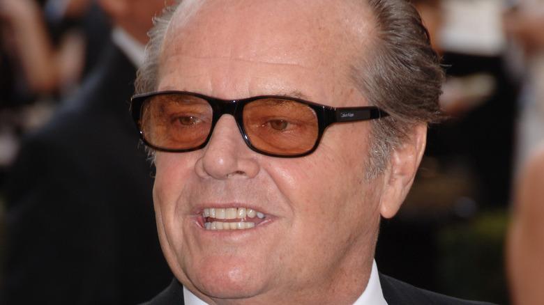 Jack Nicholson looking away