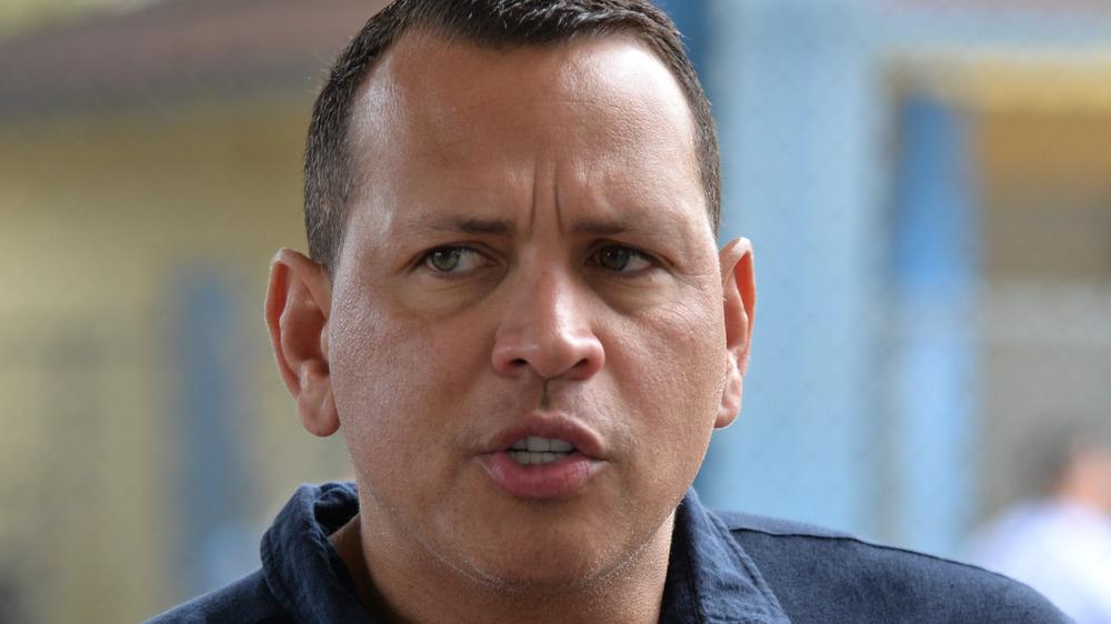 Alex Rodriguez in Miami in 2020