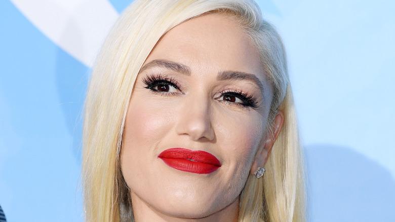 Gwen Stefani grinning