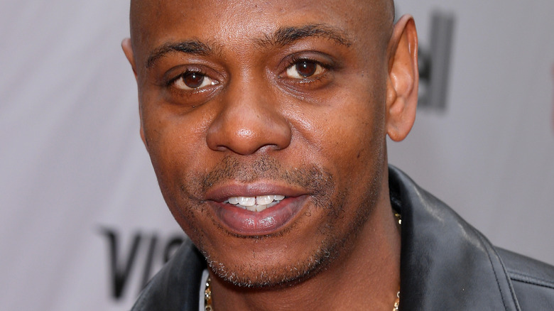 Dave Chappelle smiling