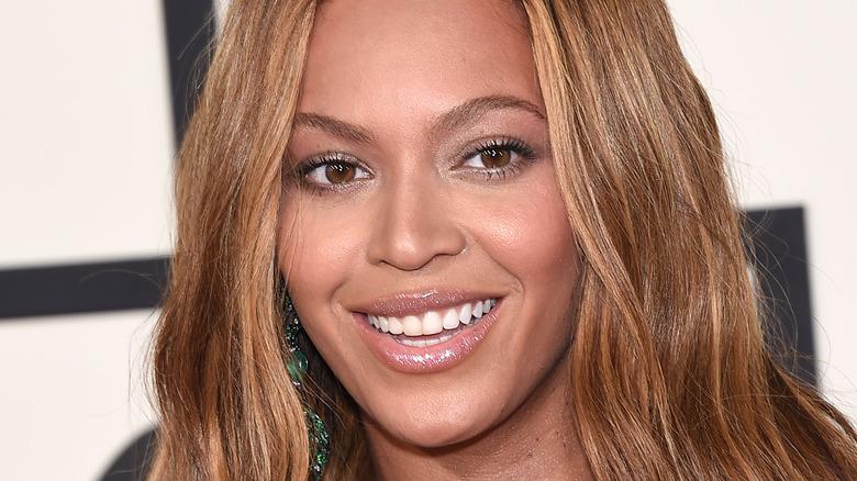 Beyoncé smiling