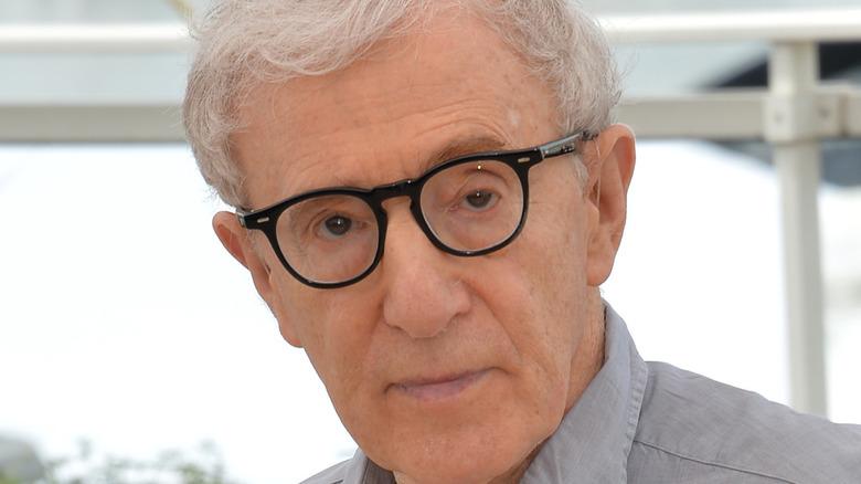 Woody Allen eyebrow raised