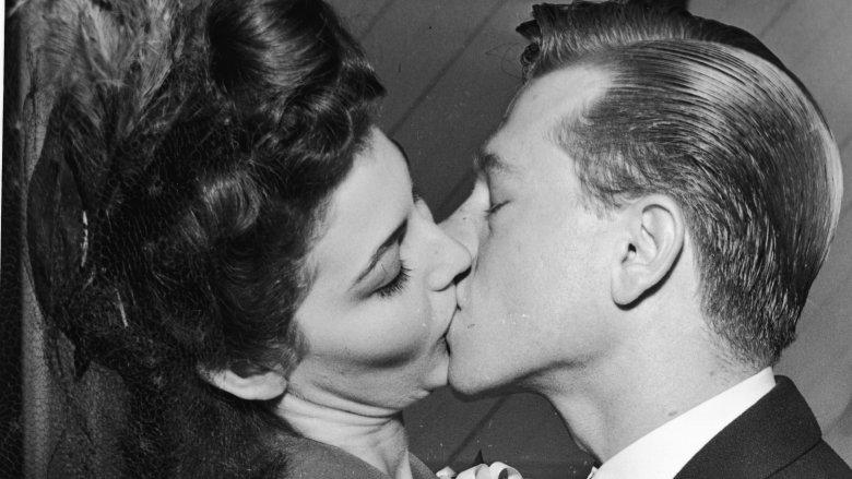 Ava Garnder and Mickey Rooney