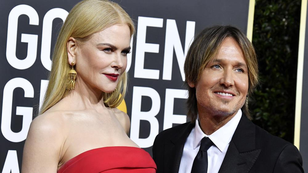 Nicole Kidman and Keith Urban at Golden Globes