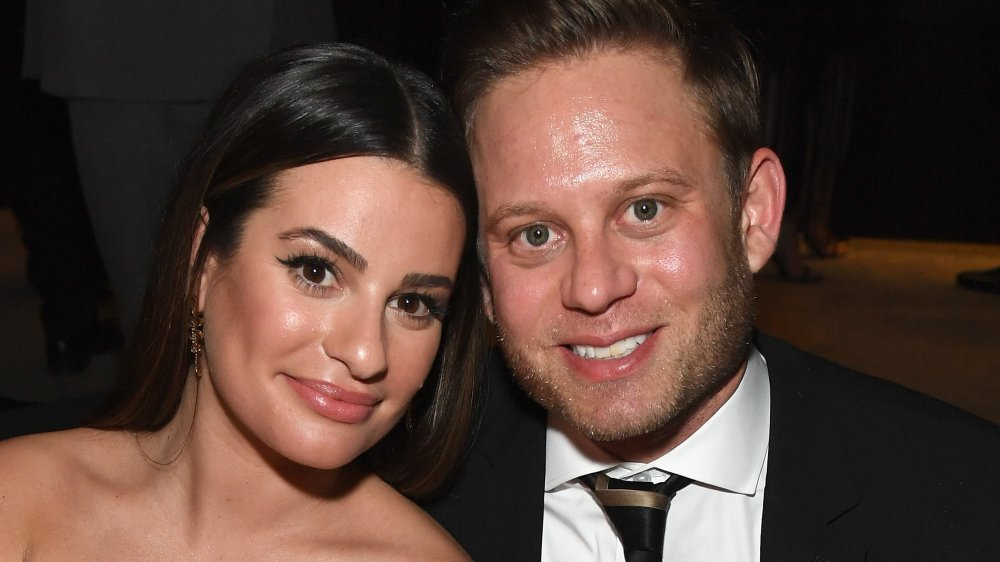 Lea Michele and Zandy Reich at the 76th Annual Golden Globes Awards Post-Party