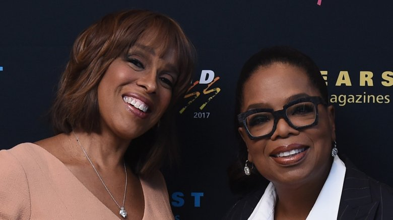 Gayle King and Oprah Winfrey
