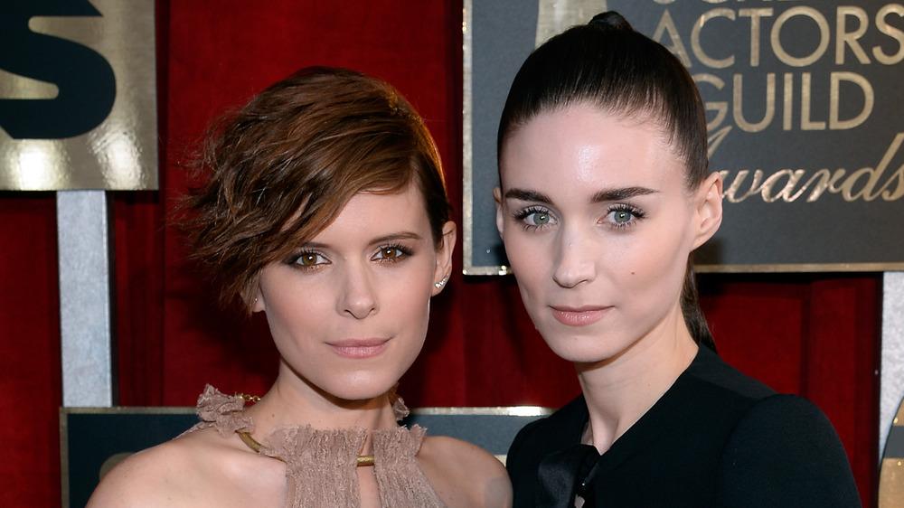 Kate Mara and Rooney Mara