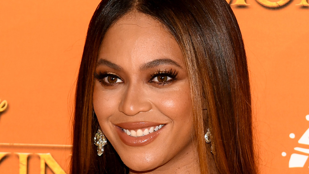 Beyonce attends 'The Lion King' premiere