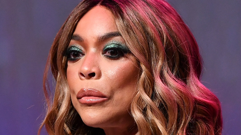 Wendy Williams frowning