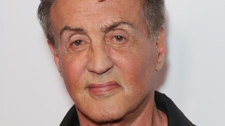 Sylvester Stallone on red carpet