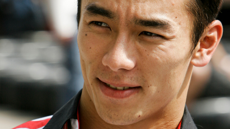 Takuma Sato at racing event