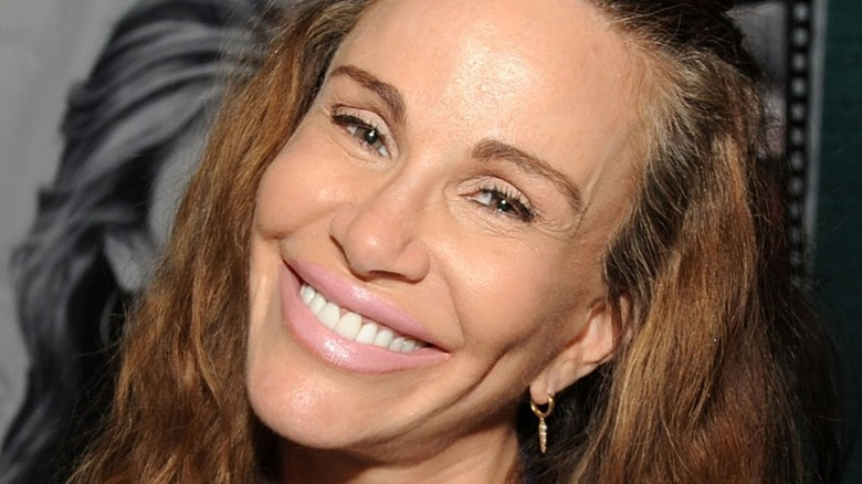 Tawny Kitaen attends the 2018 STL Pop Culture Con at St Charles on August 19, 2018
