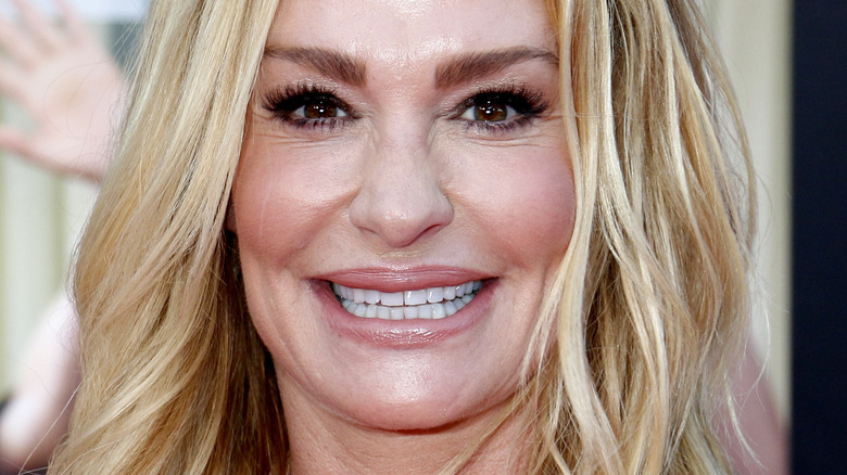 Taylor Armstrong smiling