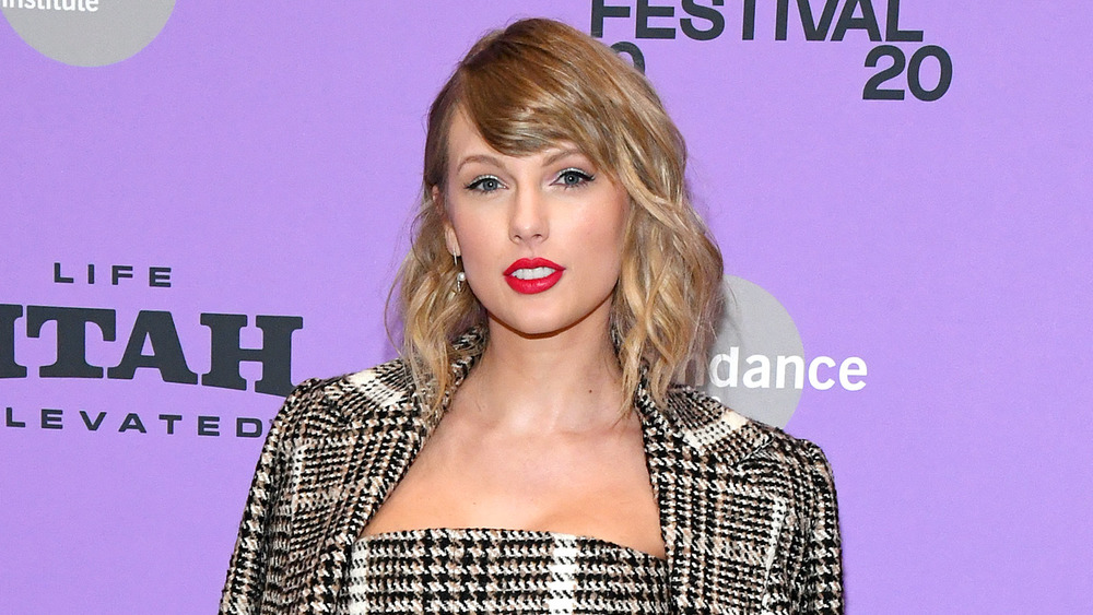 Taylor Swift at Sundance Film Festival in 2020