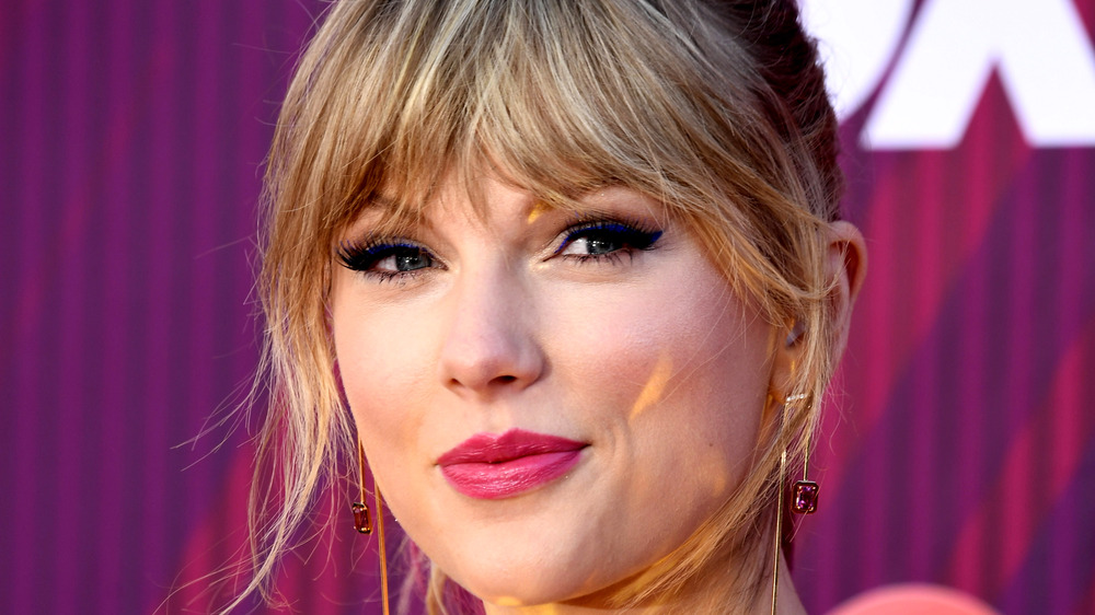 Taylor Swift smiling