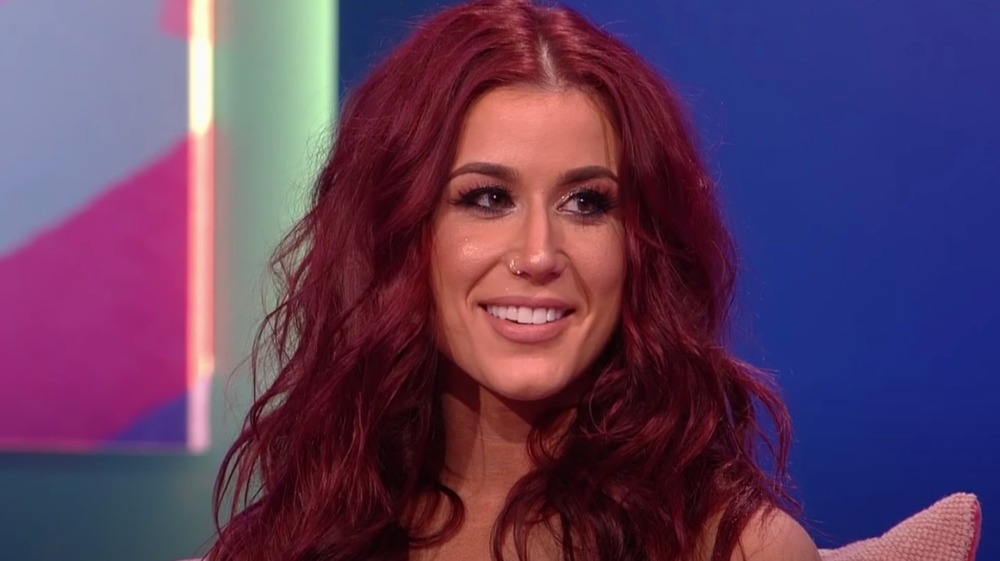 Chelsea Houska smiling at the Teen Mom 2 reunion