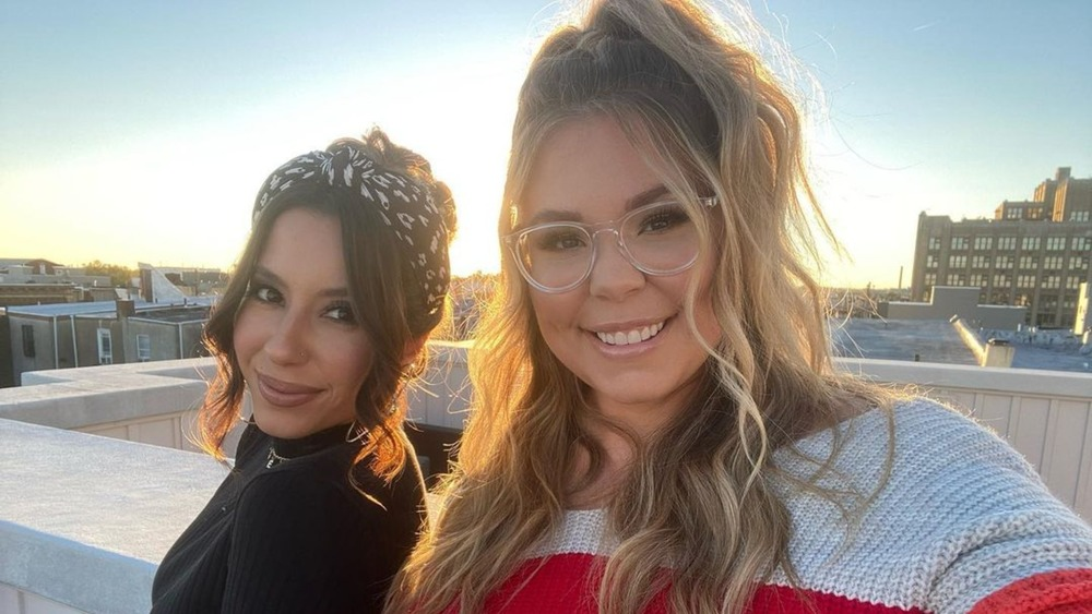 Vee Torres Rivera and Kailyn Lowry
