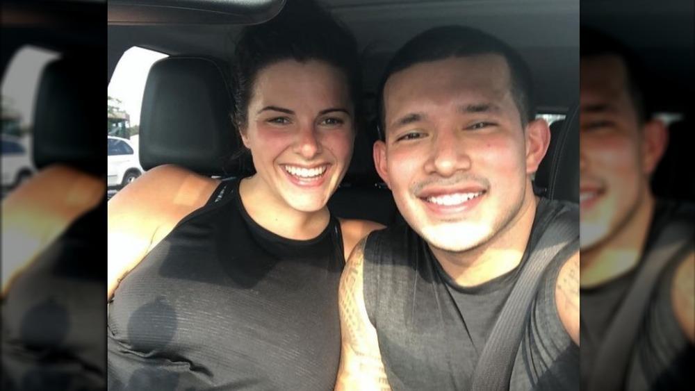 Lauren Comeau and Javi Marroquin