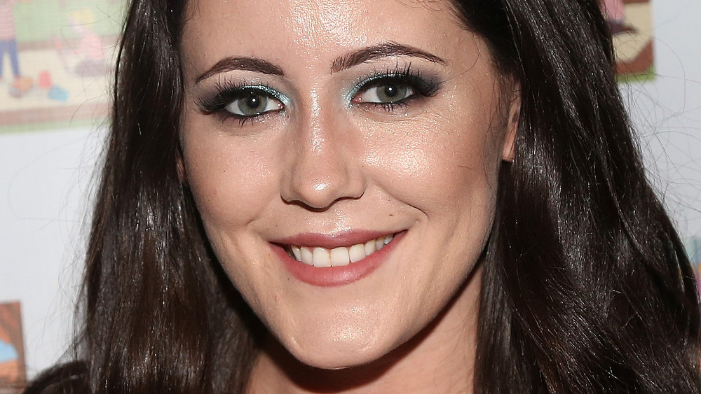 Jenelle Evans smiling at an event