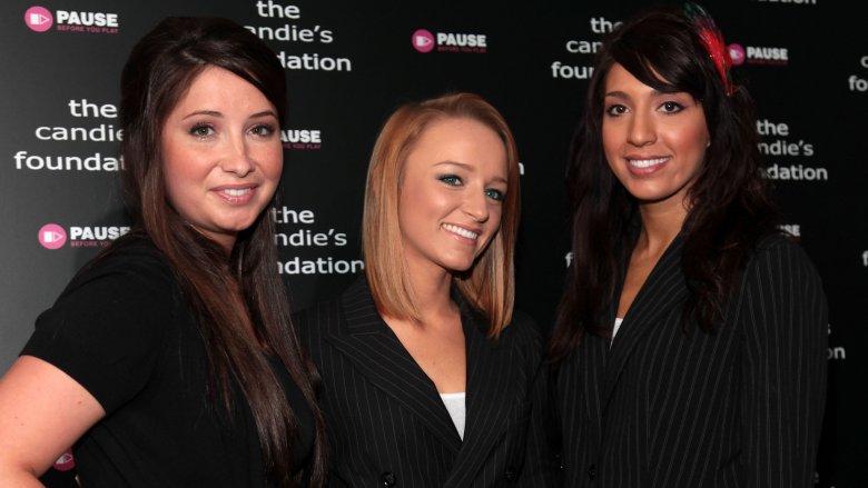 Bristol Palin, Maci Bookout and Farrah Abraham in 2010