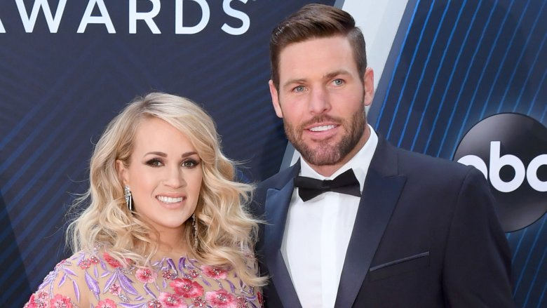 Carrie Underwood and Mike Fisher at 2018 CMA Awards