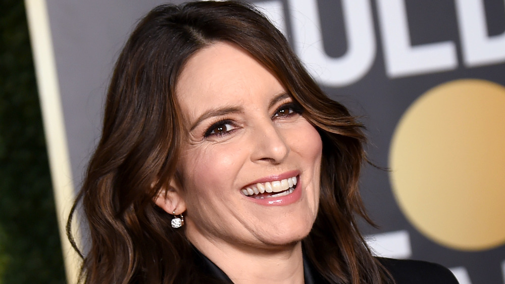 Tina Fey smiling