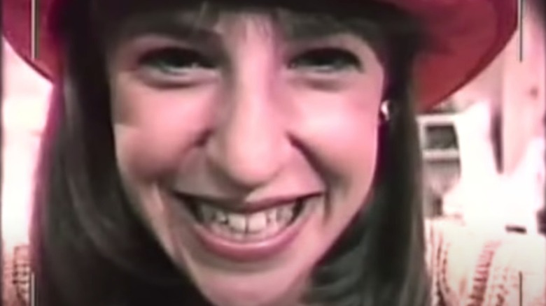 Mayim Bialik as Blossom smiling