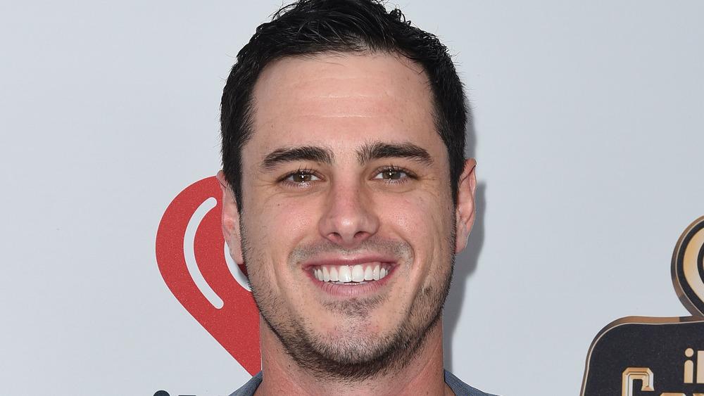 Ben Higgins smiling on the red carpet