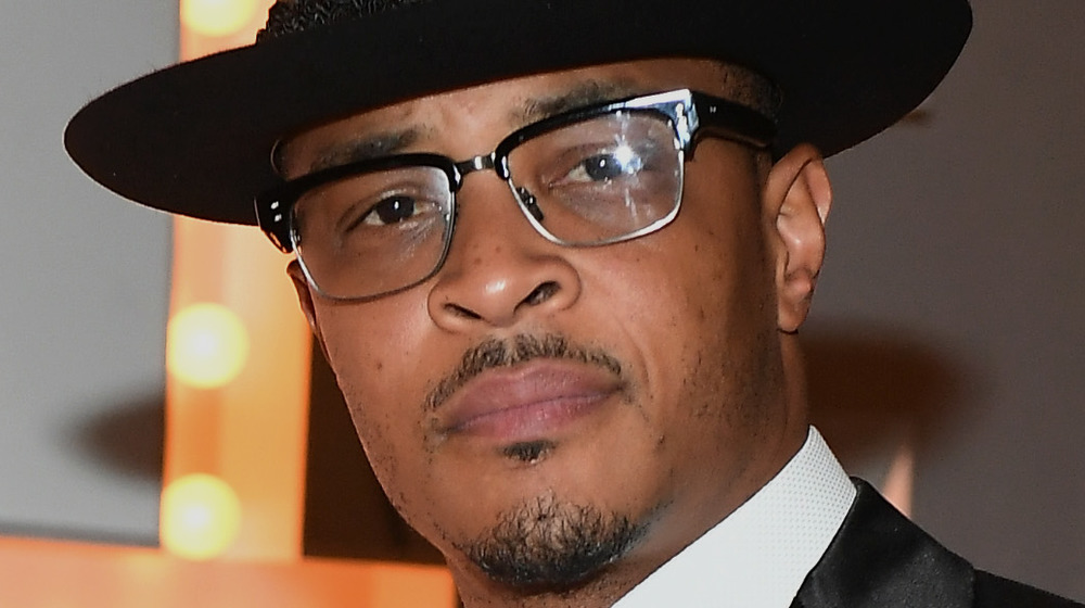 T.I. at an event