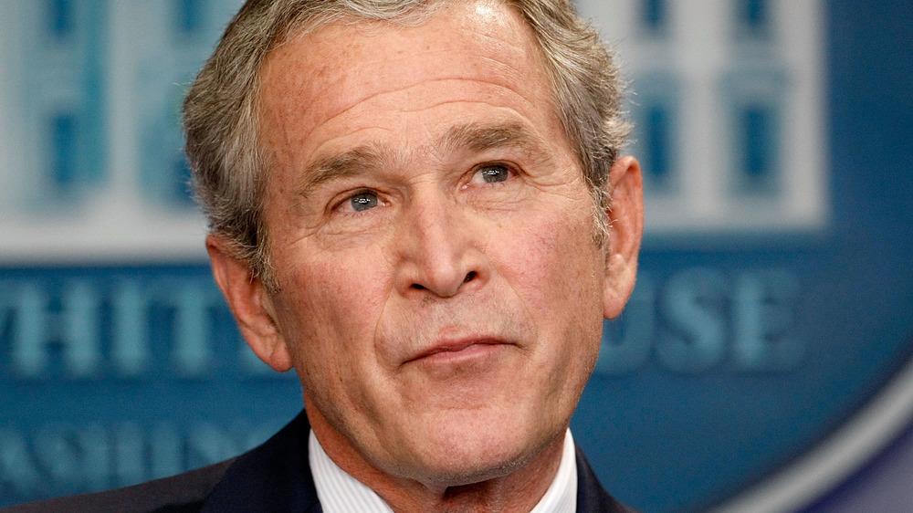 George W. Bush inquisitive